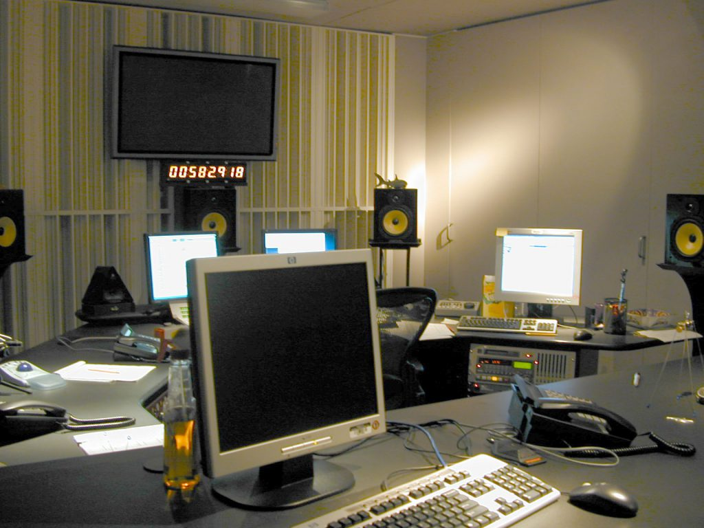 broadcast and recording facilities