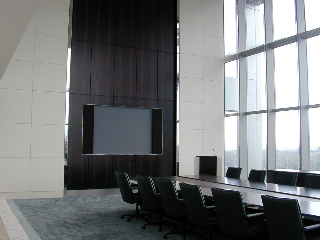 high performance conferencing spaces